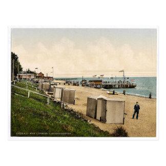 Landing pier, Wyk on Fohr, Schleswig-Holstein, Ger Postcard