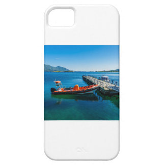 Landing stag and speed boat iPhone 5 case