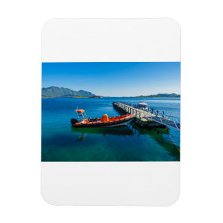 Landing stag and speed boat magnet