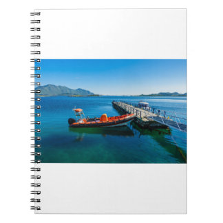 Landing stag and speed boat notebooks