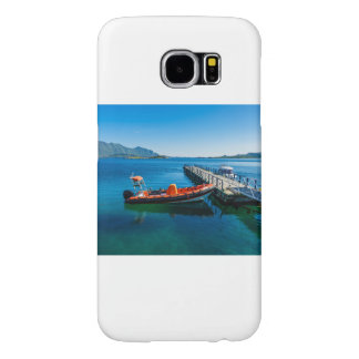 Landing stag and speed boat samsung galaxy s6 case