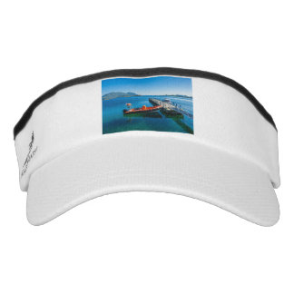 Landing stag and speed boat visor