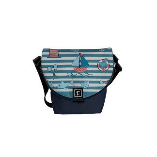 landlord nautical commuter bag