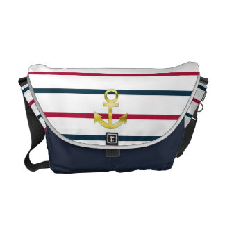 landlord nautical courier bag