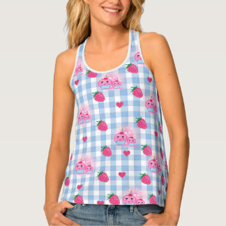landlord of strawberries and cakes tank top