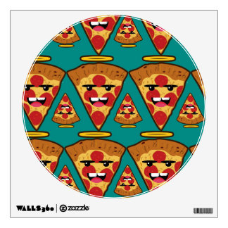 Landlord pizza wall sticker