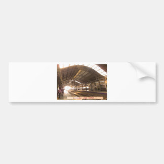 Landmark Landscapes AWESOME DELHI METRO Railway Bumper Sticker
