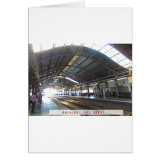 Landmark Landscapes AWESOME DELHI METRO Railway Card