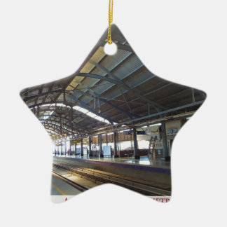 Landmark Landscapes AWESOME DELHI METRO Railway Ceramic Star Ornament