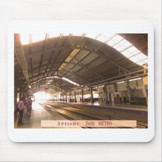 Landmark Landscapes AWESOME DELHI METRO Railway Mouse Pad