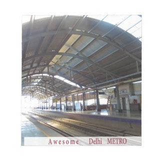 Landmark Landscapes AWESOME DELHI METRO Railway Notepad