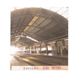 Landmark Landscapes AWESOME DELHI METRO Railway Notepads