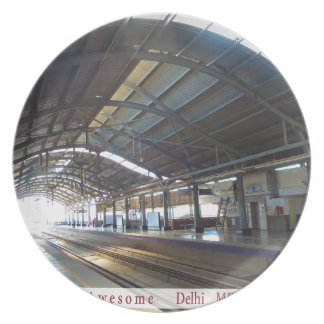 Landmark Landscapes AWESOME DELHI METRO Railway Plates