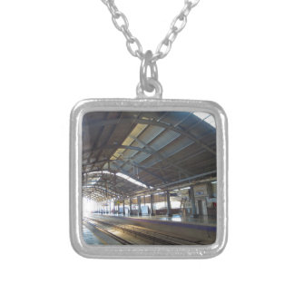Landmark Landscapes AWESOME DELHI METRO Railway Silver Plated Necklace