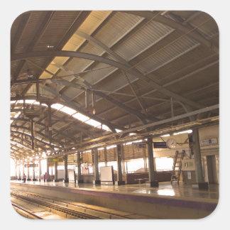 Landmark Landscapes AWESOME DELHI METRO Railway Square Sticker