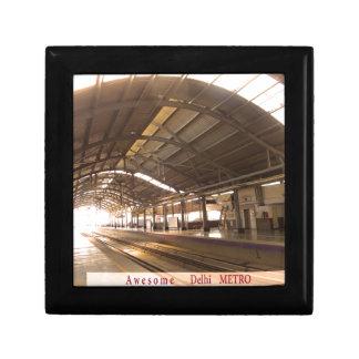 Landmark Landscapes AWESOME DELHI METRO Railway Trinket Box
