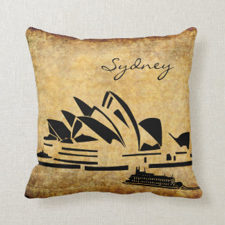 Landmark Opera House in Sydney Australia Throw Pillow