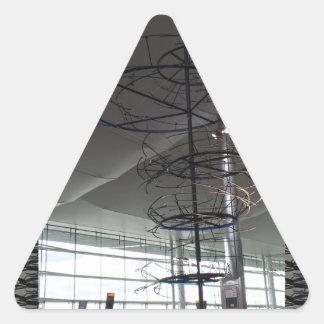 Landmark Photography  Heathrow airport London UK Triangle Sticker