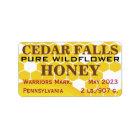 Landmark Pure Wildflower Honey Jar Label