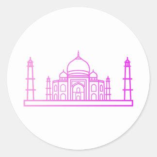 Landmark - The Taj Mahal Sticker