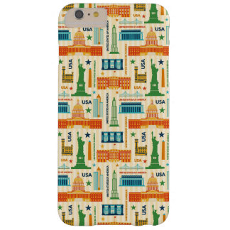 Landmarks of United States of America Barely There iPhone 6 Plus Case