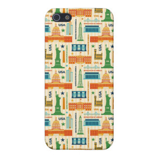Landmarks of United States of America Cover For iPhone 5/5S