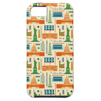 Landmarks of United States of America iPhone 5 Case