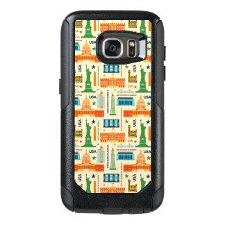 Landmarks of United States of America OtterBox Samsung Galaxy S7 Case