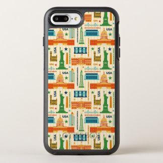 Landmarks of United States of America OtterBox Symmetry iPhone 8 Plus/7 Plus Case