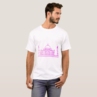 Landmarks - The Taj Mahal Man Shirt