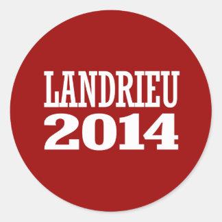 LANDRIEU 2014 STICKER