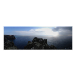 Lands End, UK Panoramic Poster (91.4 cm x 30.5 cm)