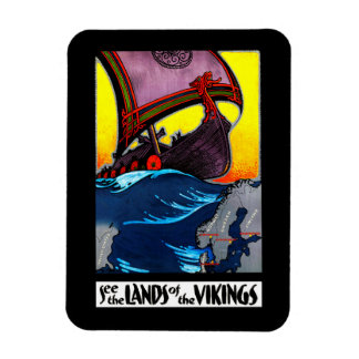 Lands of the Vikings Magnet