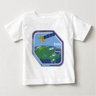 Landsat 7  Program Logo Baby T-Shirt