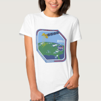Landsat 7  Program Logo T Shirts