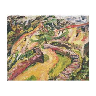 Landscape, 1919 toile tendue sur châssis