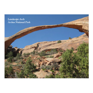 Landscape Arch, Arches National Park Postcard