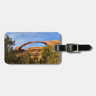 Landscape Arch at Arches National Park Luggage Tag