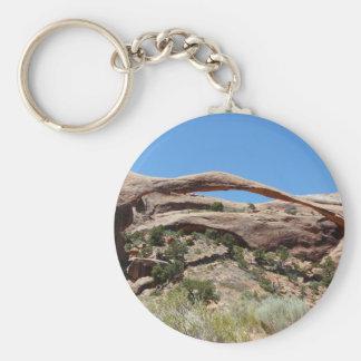 landscape arch keychain