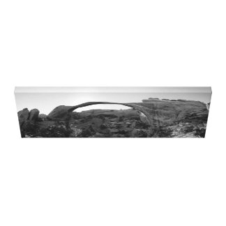 Landscape Arch Panorama Canvas Print