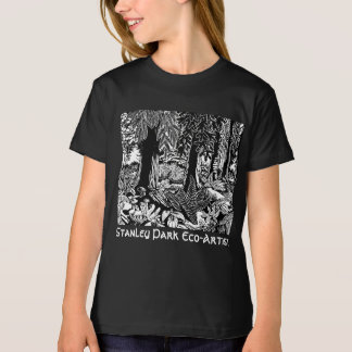 Landscape Art T-shirts Stanley Park Eco-Art Shirts