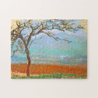 Landscape at Giverny Monet Fine Art Jigsaw Puzzle
