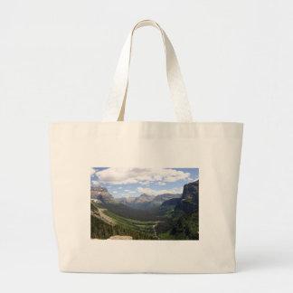 landscape bag, Glacier NP Large Tote Bag