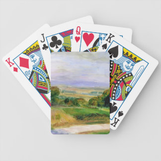 Landscape by Pierre-Auguste Renoir Bicycle Playing Cards