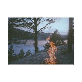 Landscape | Camping | Mountains Canvas Print