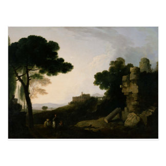 Landscape Capriccio with Tomb of the Horatii Postcard