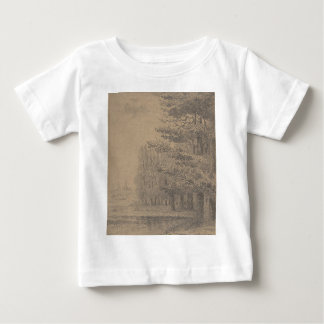 Landscape creation of Jesus Christ Baby T-Shirt
