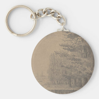 Landscape creation of Jesus Christ Keychain