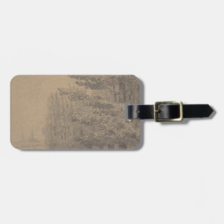 Landscape creation of Jesus Christ Luggage Tag