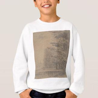 Landscape creation of Jesus Christ Sweatshirt